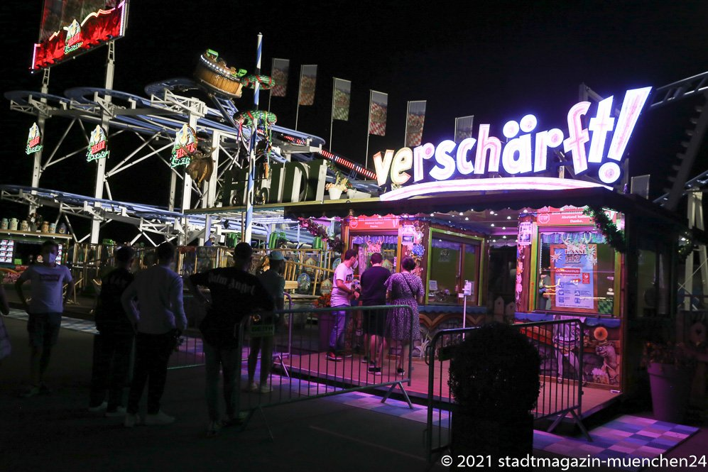 Sommer in der Stadt, Theresienwiese, 2021