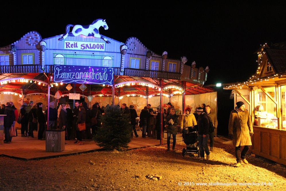 München Weihnachtsmarkt.Fotostrecke Vom Märchenbazar Im Viehhof