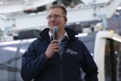 Weltrekordversuch: Franz Müllner will das Riesenrad aus eigener Kraft bewegen 2019