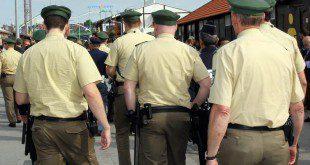 Polizeistreife Wiesnwache Oktoberfest