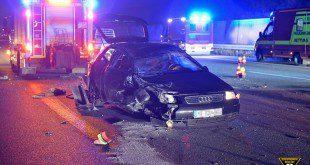 Verkehrsunfälle A9 Garching