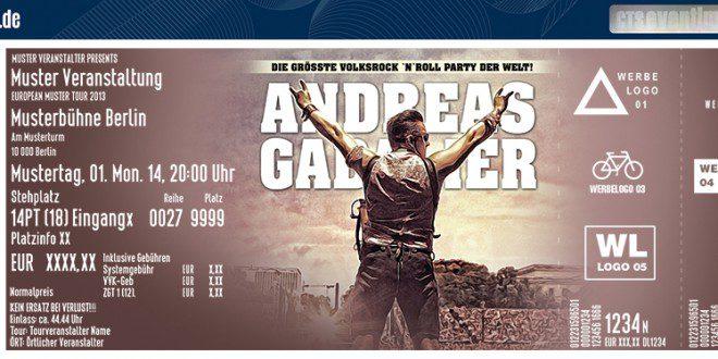 Tickets Andreas Gabalier 30716 Olympiastadion München