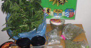 Drogenrazzia im Großraum München