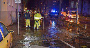 Wasserrohrbruch in Haidhausen