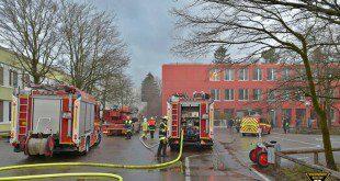 Brand Grundschule Walliser Straße München
