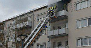 Balkonbrand Nynphenburg