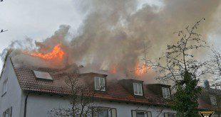 Dachstuhlbrand München-Freimann