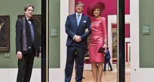 Königlicher Besuch Alte Pinakothek