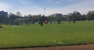 Spielabbruch Griechen Pontos - TSV 1954 DJK