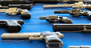 Symbolbild sichergestellte Waffen Quelle Foto Zollkriminalamt Köln