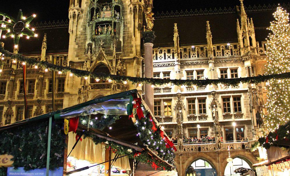Marienplatz Weihnachtsmarkt.Schlussbilanz Christkindlmarkt München 200 000 Besucher Weniger Als