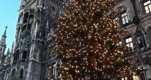 Weihnachten 2016 Rathaus Marienplatz München