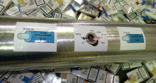 Zigaretten in Isolationsrohren geschmuggelt Foto Zohlfahndungsamt München
