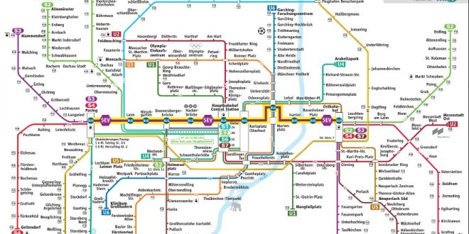 S Bahn München Sperrung Der Stammstrecke Am Wochenende