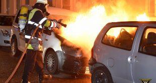 Autobrand in der Entenbachstrasse München Quelle Foto Feuerwehr München