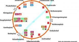 Neuer MVG Bus Cityring Quelle Grafik Stadtwerke/MVG