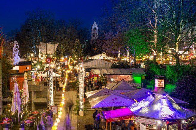 Starnberg Weihnachtsmarkt.Schwabinger Weihnachtsmarkt 2018