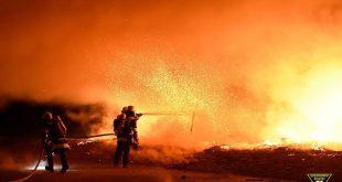 Obdachlosenlager unter der Reichenbachbrücke abgebrannt Quelle Foto Berufsfeuerwehr München