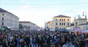 Paddys Street Food Festival St. Patrick's Day 2019 am Odeonsplatz München