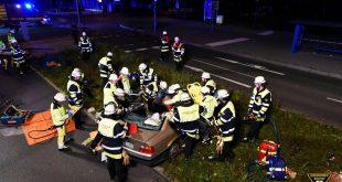 Verkehrsunfall Schleißheimer Straße München