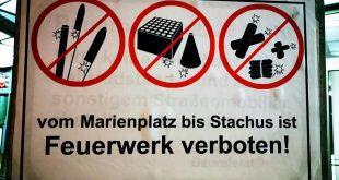 Silvester Feuerwerk von Marienplatz bis Stachus verboten