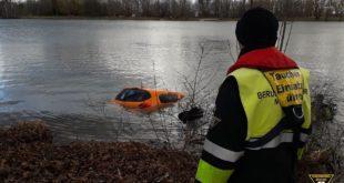 Dienstauto des Baureferats versinkt im Feldmochinger See