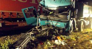 LKW-Unfall Rangierbahnhof München