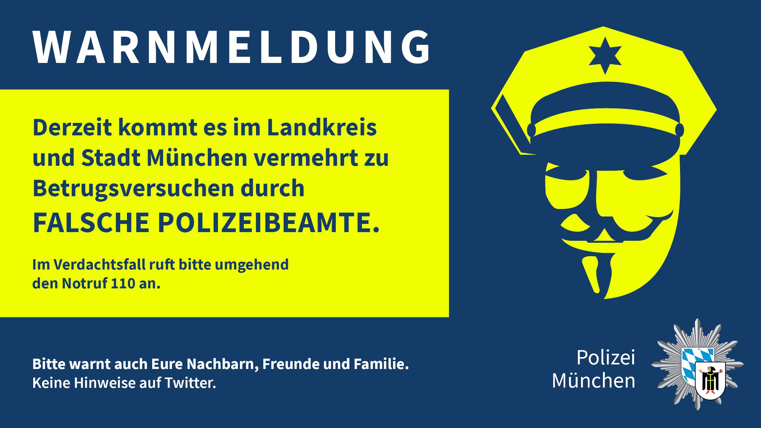 Warnung vor falschen Polizeibeamten