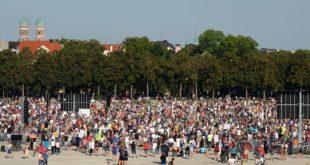 Querdenker Demo gegen Coronamaßnahmen 12.9.20 Theresienwiese München