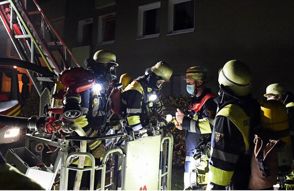 Zimmerbrand Hünefeldstraße München Moosach