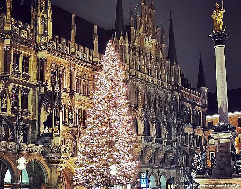 Christbaum München Marienplatz