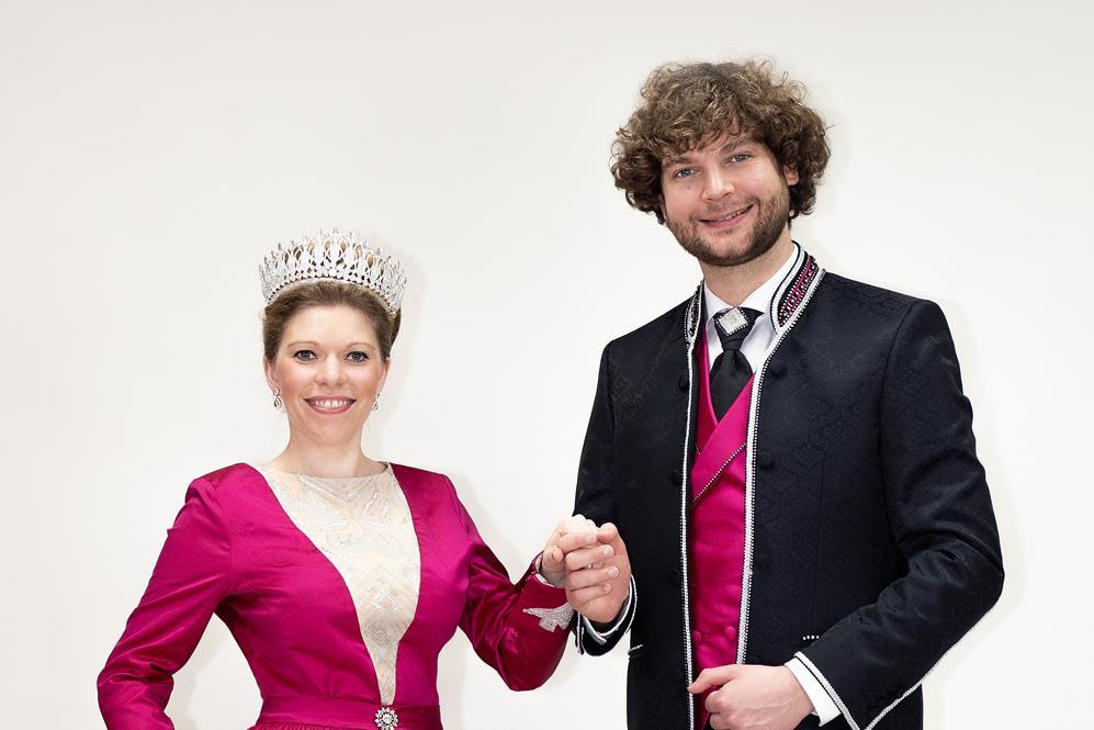 Narrhalla Prinzenpaar 2021 Berni I. und Margarethe I.