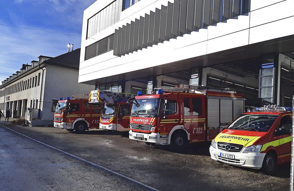 Feuerwache 5 in München-Ramersdorf in neues Gebäude umgezogen Quelle Foto Berufsfeuerwehr München